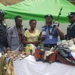 """""""My Husband Gave The Bag To Me"""" - Nursing Mother Caught With AK47 Rifle In Her Traveling Bag 9"""