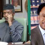 Shehu Sani Mocks VP Osinbajo For Saying He Can't Sleep Due To Extreme Poverty In Nigeria 8
