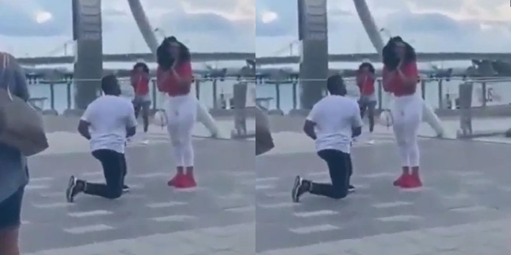 Boyfriend Fakes Proposal Just To Embarrass Girlfriend For Lying About Their Sexual Life [Video] 1