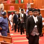 Drama As Two Speakers Emerge In Bauchi House Of Assembly, Fights Over Mace 9