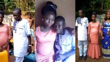 14-Year-Old Boy Forced To Marry His 15-Year-Old Girlfriend After He Impregnated Her [Video] 3