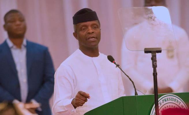 It Will Take Buhari 10 Years To Remove Ten Million Nigerians Out Of Poverty - VP Yemi Osinbajo 1