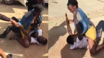 Lady Beats Up Man Who Refused To Pay Her After 'Having Fun' [Photos/Video] 4