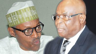 President Buhari Reveals Why He Reluctantly 'Dealt' With Former CJN, Walter Onnoghen 2