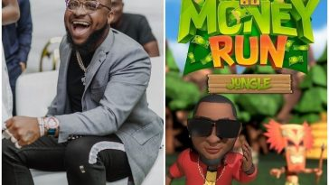 "Davido Giving Away Millions As He Launches His Own Mobile Game ""30 BG Money Run"" 2"