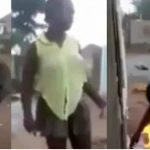 """""""Bible Is Fake & Powerless"""" - Says Lady As She Set Bible On Fire To Test God's Power [Video] 29"""