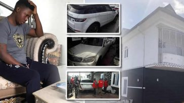 Popular Yahoo Boy 'Onoriode' Sent To Prison, Loses His Exotic Cars And Mansion To FG [Photos] 2