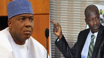 Saraki Reveals How EFCC Boss 'Ibrahim Magu' Came To Beg Him For Senate Confirmation 3