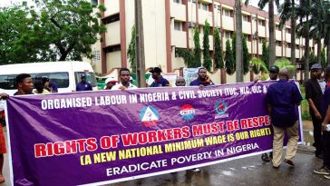Organised Labour Set To Embark On Nationwide Strike Over N30,000 Minimum Wage 1
