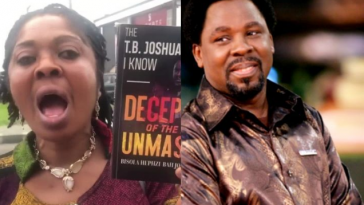 Woman Writes A Whole Book On How TB Joshua Allegedly Raped Her For 14 Good Years [Video] 4