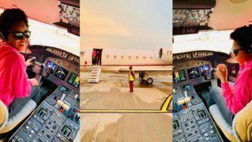 Regina Daniels Congratulates Billionaire Husband As He Acquires New Private Jet [Photos] 9