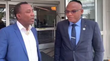Sowore Speaks On Collecting Money From Nnamdi Kanu To Overthrow Buhari's Govt 5