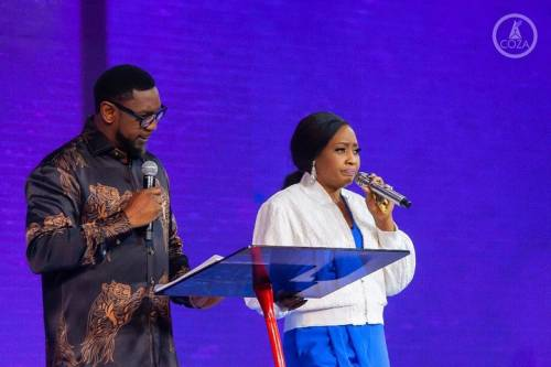 COZA Rape Scandal: Nobody Can Take My Husband's Place In The Church - Pastor Fatoyinbo's Wife 1