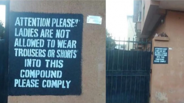 Deeper Life landlord Bans Female Tenants And Visitors From Wearing Trousers, Shorts 4