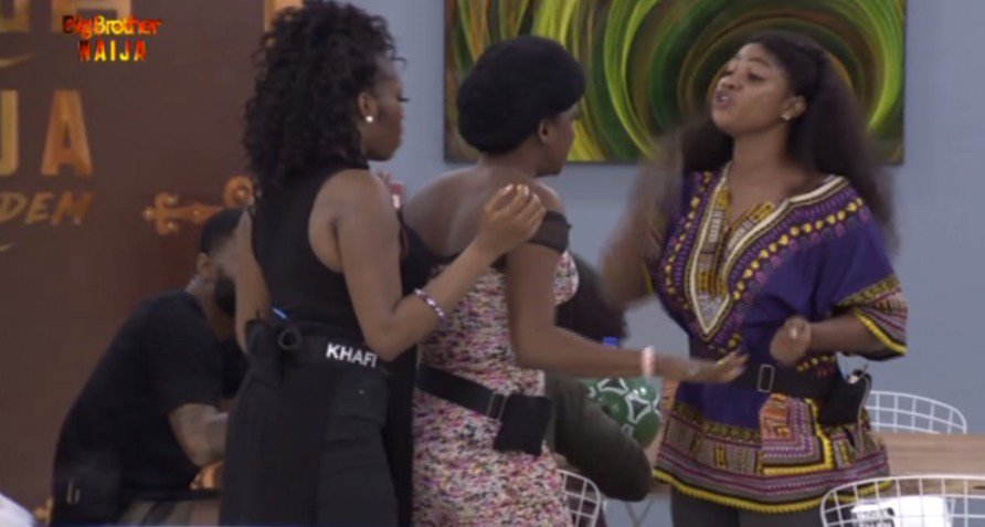 BBNaija: Just 2 Days Into The Show, Tacha And Thelma Fights Dirty Over Food Portion [Video] 1