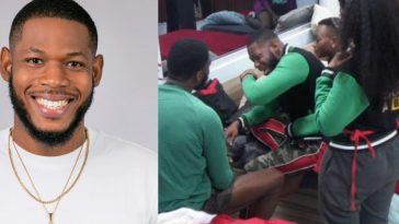 BBNaija: Frodd Breaks Down In Tears While Narrating How He Got Into The House [Video] 5