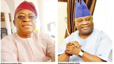Supreme Court Dismisses Adeleke's Appeal, Confirms Oyetola As Osun Governor 14