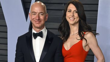 MacKenzie Becomes 3rd Richest Woman In The World After Divorcing Her Rich Husband, Jeff Bezos 6