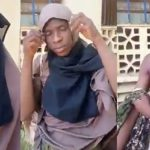 Suspected Male Thief Caught Dressed Up In Hijab Inside A Female Hostel In Kano [Video] 27