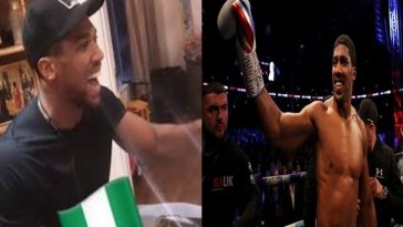 Watch: Anthony Joshua Makes Eba To Celebrate Nigeria's 60th Anniversary [Video] 3