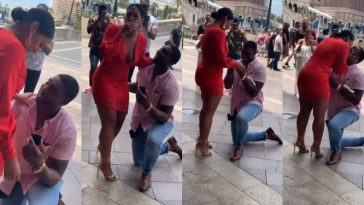Lady Breaks Down In Tears As Boyfriend Finally Propose To Her After 11 Years Of Being Together [Video] 14