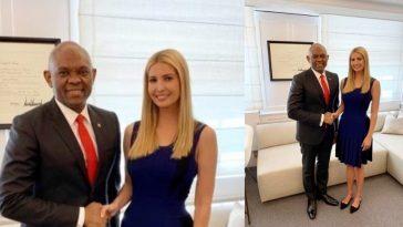 Nigerian Billionaire, Tony Elumelu Meets Donald Trump's Daughter, Ivanka At The White House 3