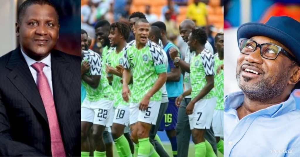 Dangote, Otedola Promises Super Eagles N27 Million For Each Goal In Remaining AFCON Matches 1