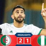 AFCON: Mahrez's 94th Minute Free-Kick Sends Nigeria Packing, Algeria To Face Senegal In Final 27
