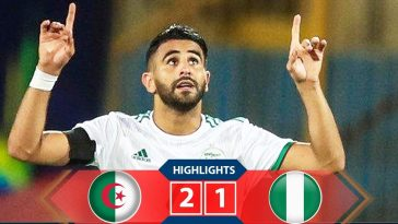 AFCON: Mahrez's 94th Minute Free-Kick Sends Nigeria Packing, Algeria To Face Senegal In Final 4