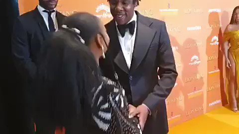 Yemi Alade Hooks Up With Beyonce And Jay-Z At 'Lion King' Movie Premiere In London [Video] 2