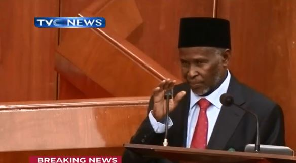 Breaking News: Senate Confirms Tanko Muhammad As Chief Judge Of Nigeria 1