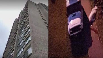 Woman Dies, Man Survives As Couple Fall From 9th Floor Window While Having Sex 2