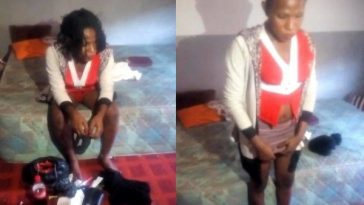 Nigerian Policeman In Shock After Finding Out The Woman He Took Home For 'Fun' Is A Man [Video] 8