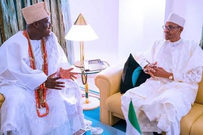 """Fish Out Bad Eggs Among Fulani Herdsmen"" - Ooni Tells Buhari 1"