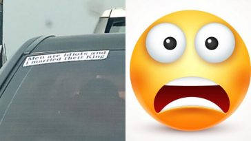 """Men Are Idiots And I Married Their King"" - Nigerian Lady's Car Sticker Got Everyone Talking 6"