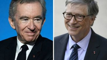 Bill Gates Loses World's Second Richest Position To Bernard Arnault 4