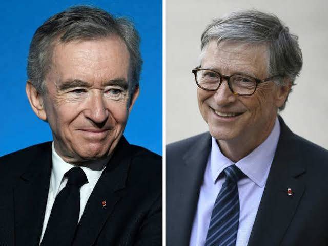 Bill Gates Loses World's Second Richest Position To Bernard Arnault 1