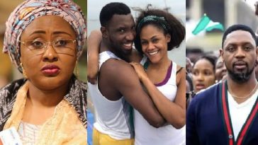Aisha Buhari Reacts As Police Visit Dakolo's House Over Rape Allegation Against Pastor Fatoyinbo 6