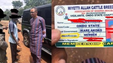 Outrage As Armed Miyetti Allah Members Set Up Vigilante Group, Checkpoint In Ondo State 6