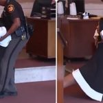 Chaos In Courtroom As Female Judge Is Sentenced And Dragged On The Floor To Prison [Video] 28