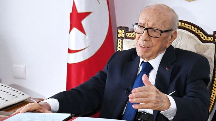 Beji Caid Essebsi: Tunisia's First Freely Elected President Dies At Age 92 After Suffering Health Crisis 1