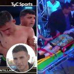 AGAIN! Argentine Boxer, Hugo Santillan Dies After Suffering Brain Injury During Match With Eduardo Javier Abreu [Video] 8