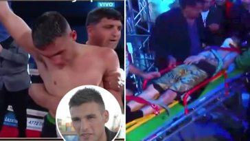 AGAIN! Argentine Boxer, Hugo Santillan Dies After Suffering Brain Injury During Match With Eduardo Javier Abreu [Video] 11