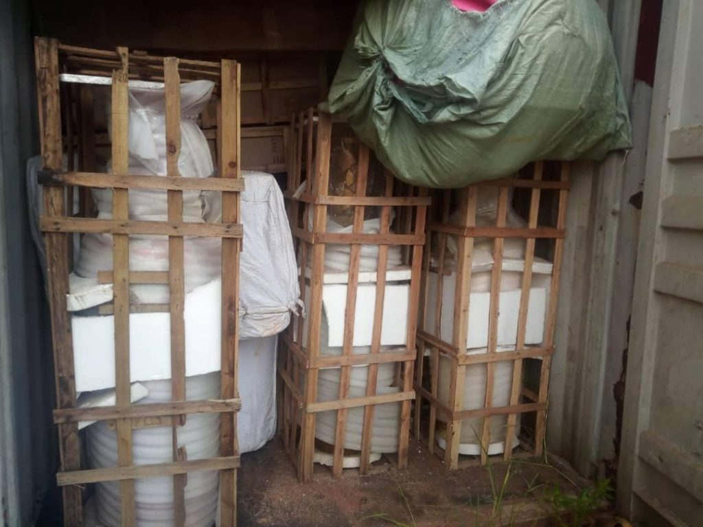 Imo Government Uncovers Warehouse Okorocha's Wife Allegedly Kept Looted Properties [Photos] 4