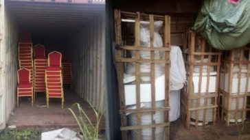 Imo Government Uncovers Warehouse Okorocha's Wife Allegedly Kept Looted Properties [Photos] 9