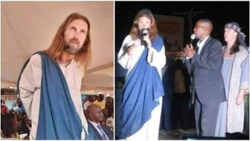 Pastor Who Claims To Have Found Jesus, Takes Him To Church To Meet His Congregation [Photos/Video] 6