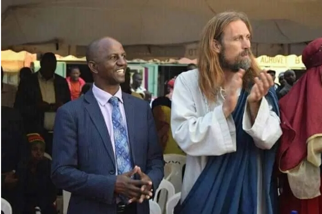 Pastor Who Claims To Have Found Jesus, Takes Him To Church To Meet His Congregation [Photos/Video] 2