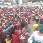 Imo Women Stage Protest, Give Ihedioha 72 Hours To Apologize Over Slap Of Okorocha's Daughter 29