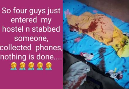 Four Gunmen Invades UNIUYO Female Hostel, Stabs A Student And Steals Valuables [Video] 1