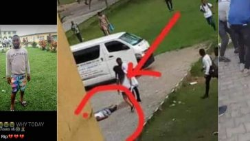 RSU Final Year Student Shot Dead Immediately After His Final Year Examination [Video] 6